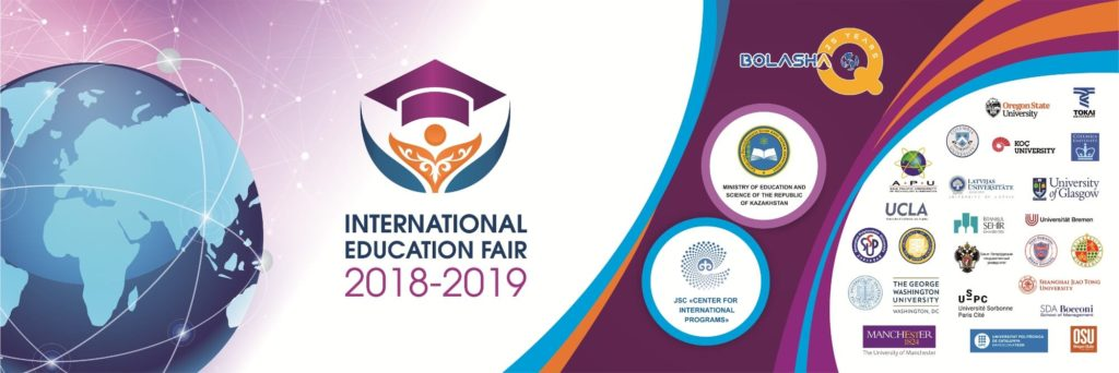 Volunteer help at the International Education Fair 2018-2019